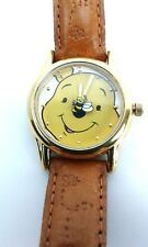 Disney Winnie The Pooh Youth Watch Leather Band Works Authentic Disney