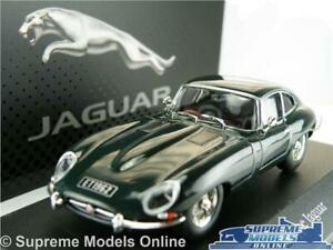 JAGUAR E TYPE CAR MODEL COUPE GREEN 1:43 SCALE IXO SPORTS COLLECTION 4641102 T3