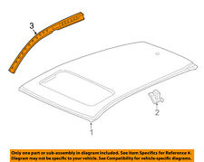 Acura HONDA OEM 16-18 RDX-Exterior Roof Side Rail Left 63520TX4A50ZZ