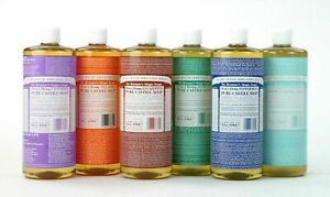 Dr Bronner's Organic Liquid Castile Soap Selection 946ml - Vegan