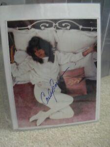 Vintage 1970s Carly Simon Signed Autographed Photograph 8x10