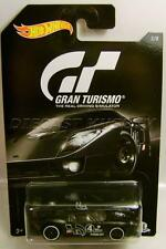 FORD GT LM FLAT BLACK GRAN TURISMO 3/8 PLAYSTATION HOT WHEELS 2016