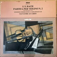 GL 32630 Bach Violin Partita No. 2 / Schubert Intro & Var / Salvatore Accardo