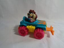 Vintage 1992 McDonald's Warner Brothers Taz Tasmanian Devil Happy Meal Toy Car