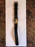 Vintage WW2 Sweetheart Photo Locket Wrist Watch With Picture
