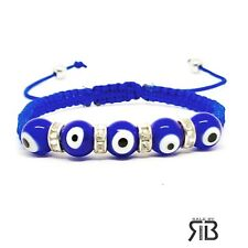 Evil Eye Blue Bracelet Ajustable Men's Women's Evil Eye Bracelet For Protection