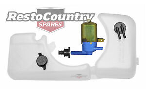 Holden Commodore Radiator Overflow + Washer Bottle + Pump VK reservoir tank