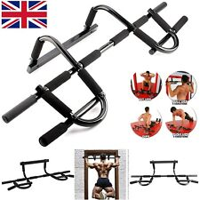 Doorway Heavy Duty Chin Pull Up Bar Mounted Fitness Strength Gym Power Training
