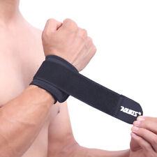 Sweatbands AOLIKES Wrist Sweat Band Sports/Yoga/Workout/Running Wristband Black