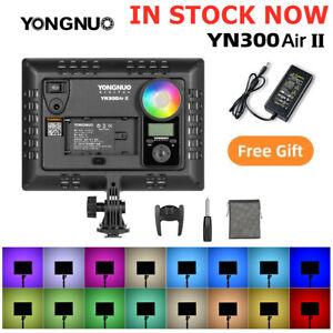 YONGNUO YN300AIR II RGB LED Camera Video Light 3200K-5600K Bi-color Video Light