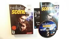 Twilight Scene It? (Nintendo Wii game, 2009) - COMPLETE - FAST FREE SHIPPING !!
