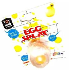 Egg Splat Soft Rubber Ball Stress Reliever Squeeze It Smash Toy
