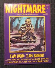 1973 NIGHTMARE Magazine #12 VF 8.0 Pablo Marcos DCHAC