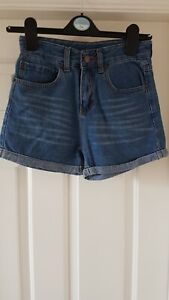 Jeans Girls Denim Shorts In Blue Colour Size 26 Age 10/11 Yrs Old