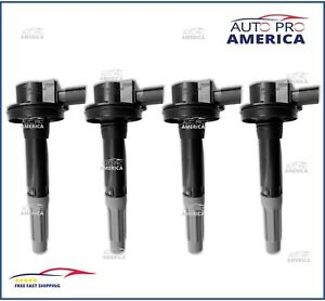 (4)GENUINE FORD 2011-2016 Ford F150 Mustang 5.0L Ignition Coils DG542 BR3Z12029A