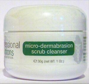 Micro Dermabrasion Scrub Cleanser for Acne, Spotty problem Skin 1oz, 2oz, Sample