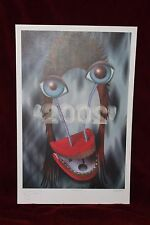 David Bowie Rex Ray Art Ltd Ed Hand Signed/Autographed Numbered Lithograph 2002