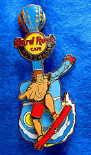 HURGHADA EGYPT RED SEA KITEBOARDING SURFER GUY GUITAR *MOVES* Hard Rock Cafe PIN