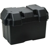 Boat Marine Universal Battery Box Large With Straps Vents Suit N70Z Dual Battery