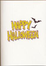 Muse (Madness) Happy Halloween MEGA RARE promo musical greeting card '12