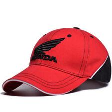 Honda Hat Car Wing Logo Baseball Red Black Cap Racing Team Men Curved 3D Polo