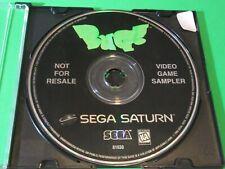 BUG Not For Resale Sampler Sega Saturn - Disc Only
