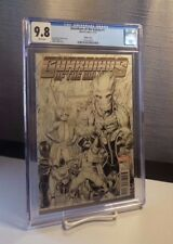 Guardians of the Galaxy #1 CGC 9.8 NM/MT WHITE Pages - Arthur Adams Sketch Cover