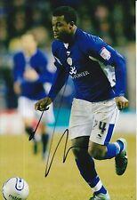 Leicester City Firmato a Mano yakubu 12x8 foto.