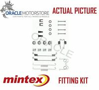 NEW MINTEX REAR BRAKE SHOES SET FITTING KIT PIN SPRINGS GENUINE QUALITY MBA626
