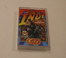 RARE Indiana Jones and the Last Crusade by LucasFilm/Kixx for Commodore 64