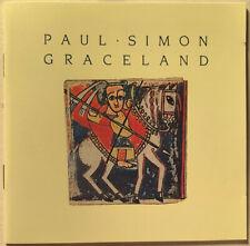PAUL SIMON GRACELAND CD USA ENHANCED RARE CLUB PRESSING