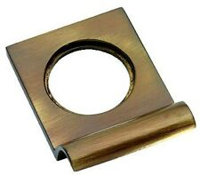 Solid Ottone Antico Vittoriano YALE LUCCHETTO Surround / DOOR Pull (Xl237)