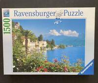 Ravensburger 1500 Piece Jigsaw Puzzle #162536 Lake Maggiore, Italy- Complete