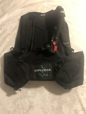 Seaquest Explorer Bcd With Air 2 Size Large