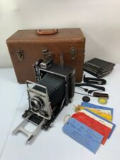 GRAFLEX SPEED GRAPHIC 4X5 CAMERA Used In Miss America Pageant 1950-1960's