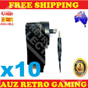10x New Power Supply Plug Adapter Cable Cord For ATARI 2600 Console