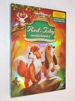 Film dvd Red e Toby nemiciamici (1981) Cartone Animazione DISNEY con slipcase