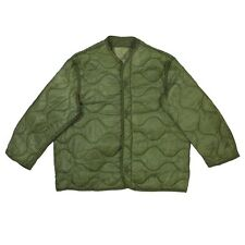 M65 Field Jacket Quilted OD Green Coat Liner Small NSN: 8415-00-782-2887