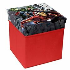 Portagiochi in stoffa rigida Quadrato Avengers Mr402214