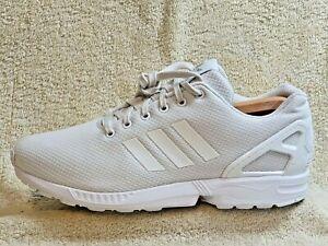 Adidas ZX Flux Torsion mens trainers Triple White UK 11 EUR 46 US 11.5