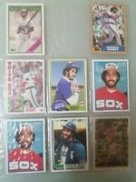 Lot of 8 Harold Baines Baseball Cards (Topps 1981 1981 1984 1987 Rookie HOF etc)