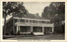 Sanford NC Golf & Country Club Postcard