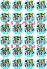 Mini cialde ostie per cupcakes di TEEN TITANS GO, cupcake, torta, ostia, torte