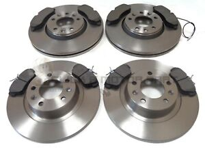 PEUGEOT EXPERT 1.6 2.0 HDi 2007-2016 FRONT & REAR BRAKE DISCS AND PADS SET NEW