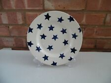 "Emma Bridgewater Blue Star 8 1/2"" Plate - New"