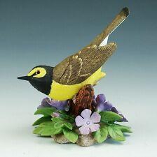 Vintage Lenox Garden Birds Hooded Warbler Porcelain Figurine