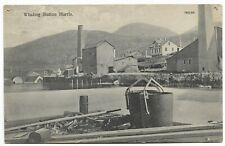 More details for postcard-harris-whaling industry-ptd. the whaling station.