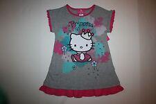 New Princess Hello Kitty Applique Tunic Top Size 6 kid NWT RV $26 Short Sleeve