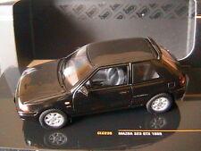 Ixo Model Clc235 Mazda 323 GTX 1989 Black 1 43 Modellino
