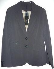 "BNWT New Look black pinstripe trouser suit size 10, 32"" leg, boot flare"